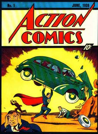 Action Comic Numero 1: Superman