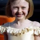 Dakota Fanning en una entnrega de premios