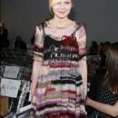 Kirsten Dunst con un look muy desarreglado en la semana de la moda en Nueva York