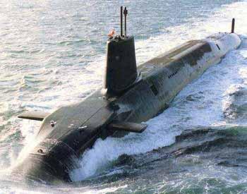 Submarino británico vanguard