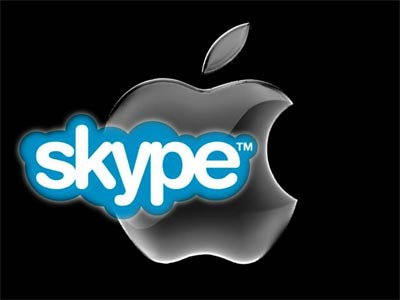 Apple y Skype
