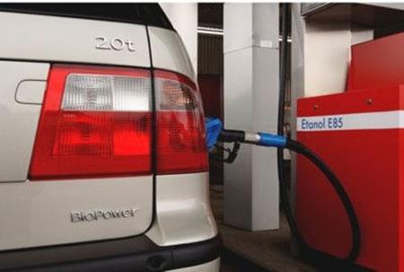 Etanol como combustible habitual en Suecia