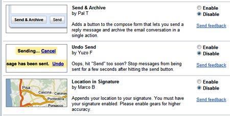 Gmail Undo, el boton de cancelamiento efectivo de envio de mensajes