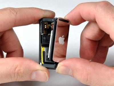 ipod shuffle visto por dentro
