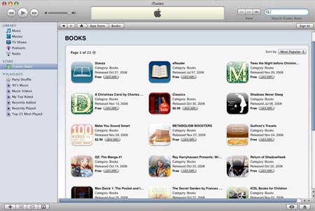 itunes ebooks, triunfan en ventas los libros de apple store digital
