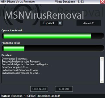 MSN Virus Removal