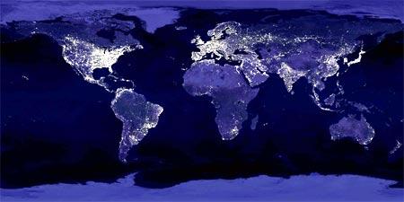el mundo iluminado
