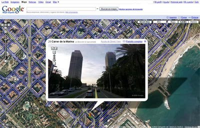 Street View disponible en españa