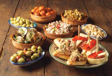 Tapas granadinas