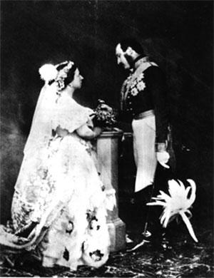 Boda de la reina Victoria I de Inglaterra