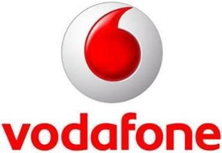 vodafone logotipo de la empresa de telefonia movil