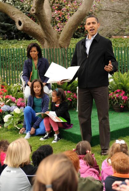 Barack Obama en evento de Pascua