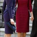 Carla Bruni y Letizia conversando