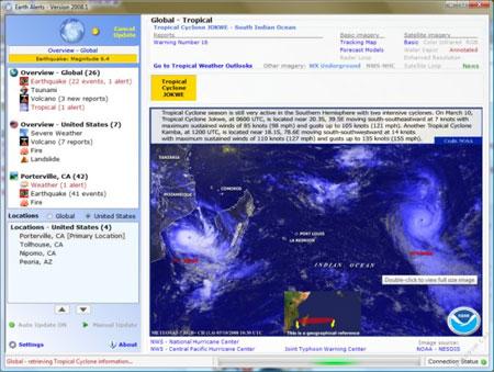 Earth Alert 2009.1.12