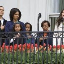 Familia Obama y Fergie