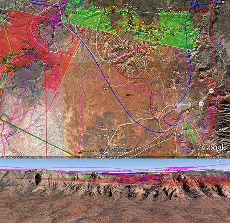 Google Earth utilizado para encontrar accidente de avión