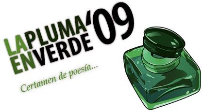 Certamen de poesia la pluma en verde 2009