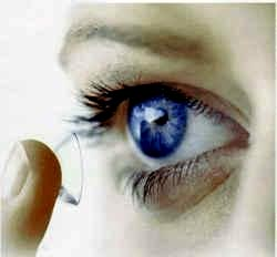 Lente de contacto que protege la retina