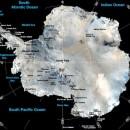 mapa de la antartica para conocer a fondo el panorama