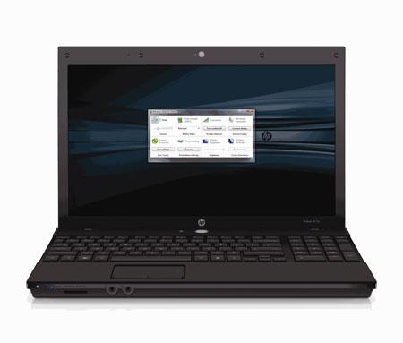 Probook negra de HP con Linux SuSE