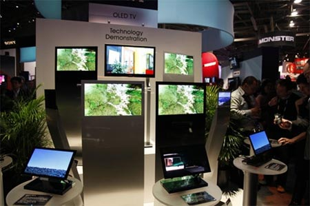 Pantallas de TV OLED de Sony