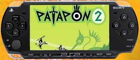 Video juego Patapon 2