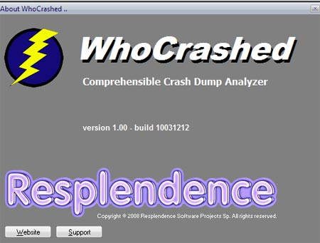 Who Crashed 1.0