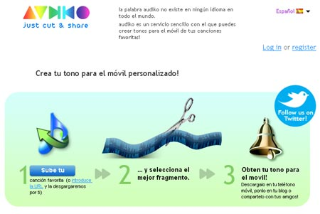 Crea tus ringtones personalizados con Audiko