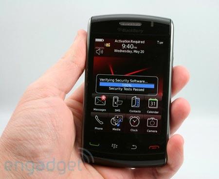 Nuevo BlackBerry Storm 2