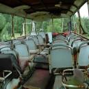Restos de un camion destrozado en Chernobyl