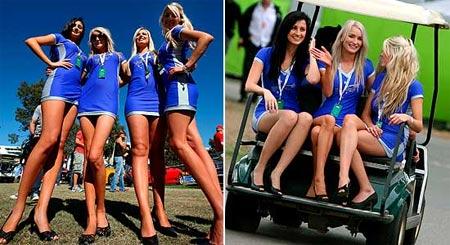 Mujeres guapas de Australia en Formula 1