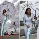 Chicas guapas de Malasia en la Formula 1