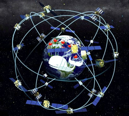 Satelites GPS de USA