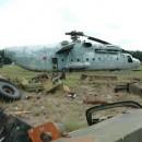 Helicoptero que ayudo a detener los estragos del accidente nuclear