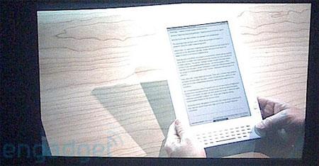Posible Kindle DX de Amazon