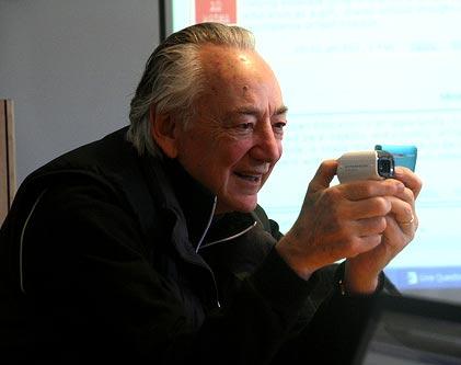 Charles Nesson profesor de leyes en la universidad de Harvard