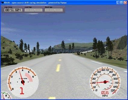 VDrift simulador de manejo
