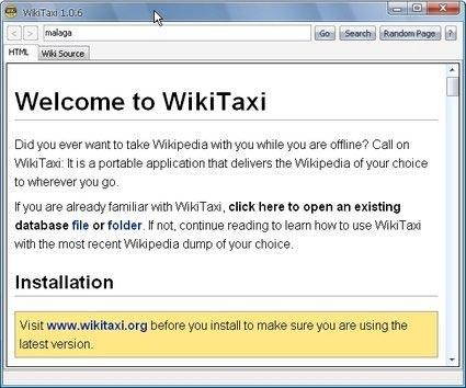 Descargar gratis WikiTaxi