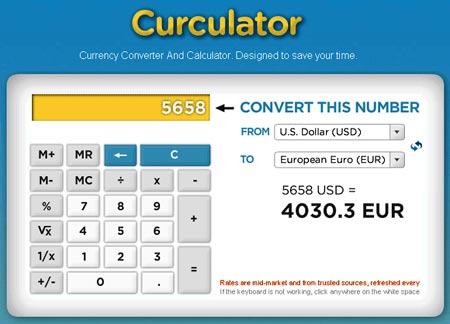 Curculator online