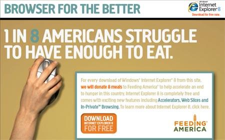 Microsoft apoya a la organizacion Feeding America