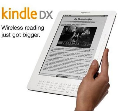 lector electronico Kindle DX