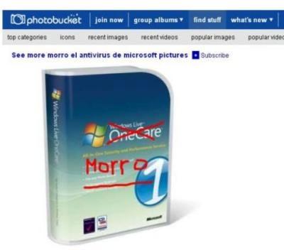 Antivirus de Microsoft: Morro
