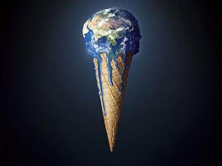La Tierra derritiéndose