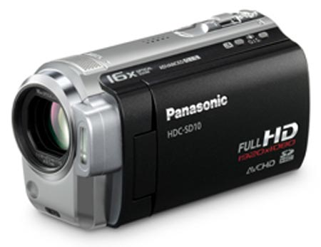 panasonic-hdc-sd1d nueva camara de video
