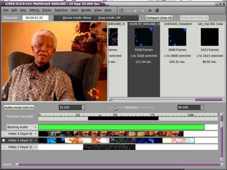 Editor de video LiVES