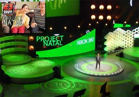 Presentacion de Project Natal de Microsoft