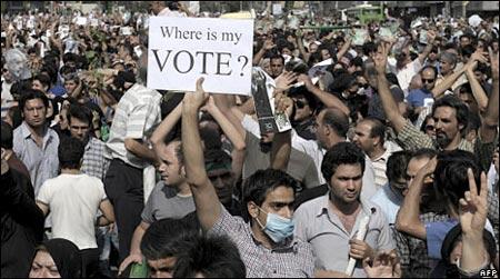 Problemas politicos en Iran