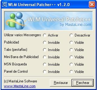 Descargar gratis WLM Universal Patcher