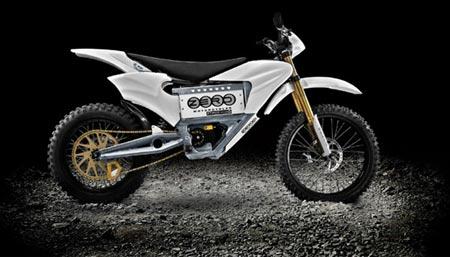 Zero MX  motocicleta funciona con energia electrica