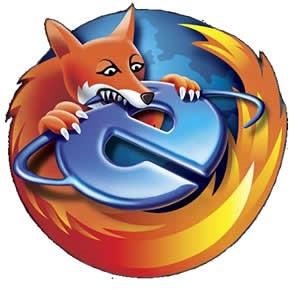 Firefox tiene ventaja con los usuarios europeos sobre Internet Explorer